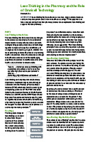 Omnicell Lean White Paper